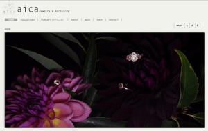 """aica-Jewelry & Accessory http://www.aica-jewelry.com/ 松山 あい(CAD・彫金・アントレ) ファッションの""""差し色""""になるような、ちょっとインパクトがあって楽しいジュエリー"""