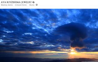 AYA KIYOSHIMA JEWELRY http://www.ayakiyoshima.com/ 清嶋 あや(ジュエリーCAD・アントレ) 個性的でシンプルなジュエリーを展開するAYA KIYOSHIMA