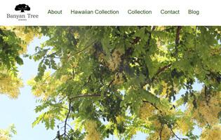 Banyan Tree http://www.banyantree-jewelry.com/ 岩田 亜矢子(CAD・ハワイアン・アントレ) 身につけている人の心に癒しをもたらし、本来の自分に戻ることができるピースフルジュエリー