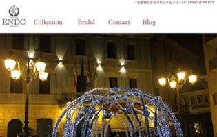 ENDO JEWELRY http://www.endo-jewelry.com/ 遠藤 千春(ジュエリーCAD・アントレ) さまざまな時代のきらびやかなジュエリーに刺激を受け、オリジナル・デザインのジュエリーを製作。