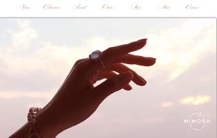 MIMOSA https://www.mimosa-jewelry.com/ YUKO ICHIBA(CAD総合・アントレ) ひとつひとつ形の違う「まる」。微妙に異なる形の粒が織り成すその瞬間にだけ生まれた美しさ
