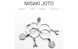 MISAKI JOTO http://www.misaki-joto.com/ 上東 美早紀(彫金総合+WAX+アントレ) シンプルでアンバランスなジュエリー MISAKI JOTO