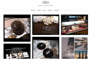 rito http://www.rito-official.com 丸江 理都(CAD) 曲線に強いこだわりを持ち、色々な曲線の美しさを追及したジュエリーブランド