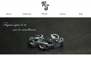 RJ http://www.rei-wakatsuki.com/ 若月 玲(銀粘土・彫金・CADコース) セミ・フルオーダーで本人がひとつひとつ丁寧に製作しているブランド 「REI」