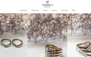 TOMOMI.S JEWELRY http://www.tomomi-s.com/ 清水 知美(彫金+アントレプレナー) 毎日のコーディネートに変化を彩るジュエリー TOMOMI.S JEWELRY