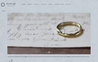 tsumugi jewelry https://www.tsumugi-jewelry.com/ 飯塚 由紀子(CAD+アントレプレナー) 草花をモチーフとしたノスタルジックなジュエリーを制作するブランド。