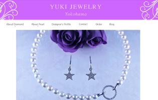 YUKI JEWELRY http://www.yukiko-rikuta.com/ 陸田 由紀子(ジュエリーCAD総合・アントレ) ダイヤモンドや真珠など天然石を用いたジュエリー YUKI JEWELRY