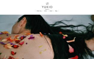 YUKIO jewelry http://www.yukio-jewelry.com/ 中村 優希(ジュエリーCAD総合・アントレ) シンプルかつ洗練されたユニセックスデザインジュエリー YUKIO jewelry