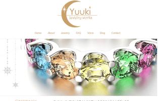 YUUKI Jewelry Works 秋山 優紀(WAX・CADデザイン・アントレ) 自然界からの贈り物・天然石を使ったヒーリングジュエリー