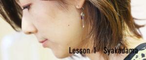 Lesson1 Syakadama