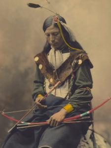 インディアンの伝統を受継いでいく