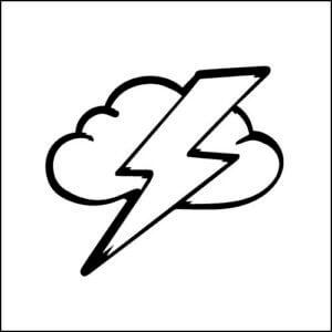 サンダークラウド 雷は恵みの雨をもたらしてくれるものとであり、、パワーとスピードの象徴でもあります。