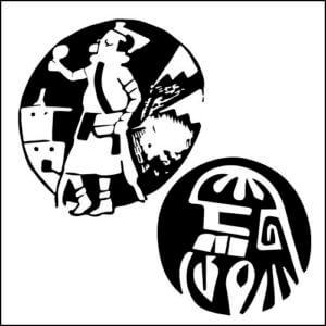 カチナとはホピ族を中心に信仰される精霊のような存在。