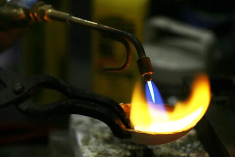 彫金 金属溶解