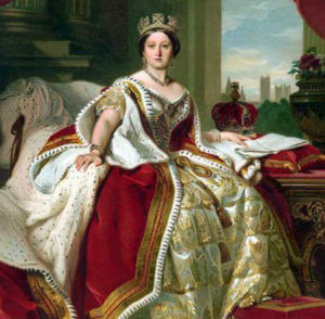 ヴィクトリア女王参考写真
