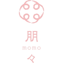 MUSU・HI・TSUKI 朋々₋momo₋ロゴ