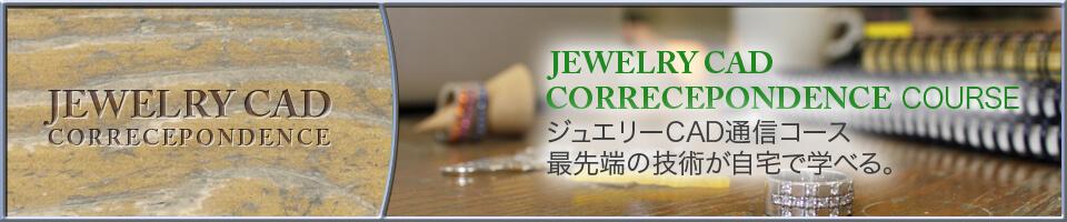 Jewelry CAD COrrecepondence Course ジュエリーCAD通信コース 最先端の技術が自宅で学べる。