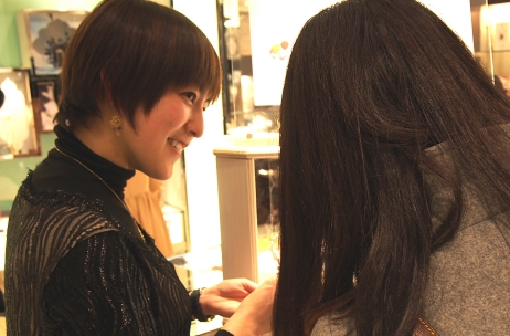 EXIBITION REPORT MEGUMI HARUNA 期間限定ショップ 『what's your color?』
