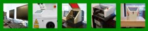 CAD・Web・写真加工まで学べる環境 微細な溶接を可能にするレーザー溶接機 3Dプリンターの光造型機 微細な加工も可能な金属切削機 美しい表面処理を施すサンドブラスター