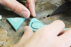 天然石研磨